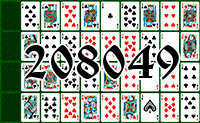 Solitaire №208049