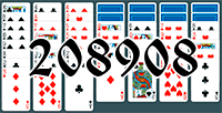 Solitaire №208908