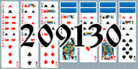 Solitaire №209130