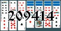 Solitaire №209414