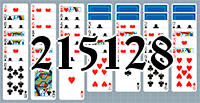 Solitaire №215128