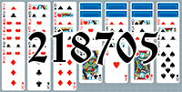 Solitaire №218705