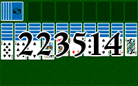 Solitaire №223514