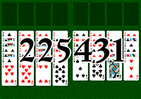 Solitaire №225431