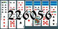 Solitaire №226056