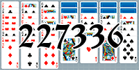 Solitaire №227336