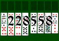 Solitaire №228558