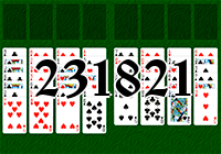 Solitaire №231821