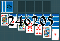 Solitaire №246205
