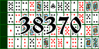 Solitaire №38370