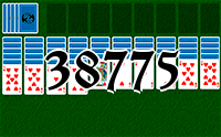 Solitaire №38775