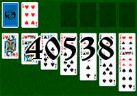 Solitaire №40538