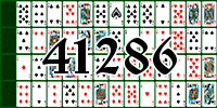 Solitaire №41286