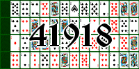 Solitaire №41918