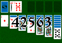 Solitaire №42563