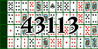 Solitaire №43113