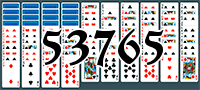 Solitaire №53765