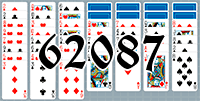 Solitaire №62087