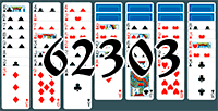 Solitaire №62303