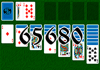 Solitaire №65680