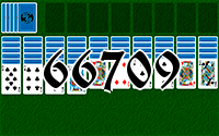 Solitaire №66709