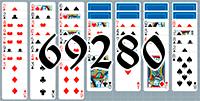 Solitaire №69280