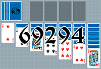 Solitaire №69294