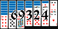 Solitaire №69324