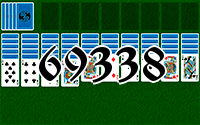 Solitaire №69338