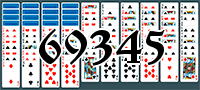 Solitaire №69345