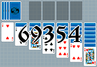 Solitaire №69354