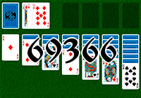 Solitaire №69366