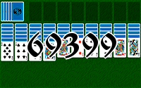 Solitaire №69399