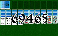 Solitaire №69465