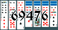 Solitaire №69476