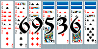 Solitaire №69536