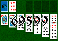 Solitaire №69599