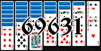 Solitaire №69631
