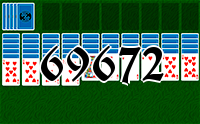Solitaire №69672