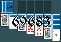 Solitaire №69683