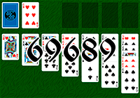 Solitaire №69689