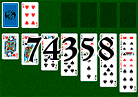 Solitaire №74358