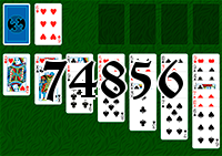 Solitaire №74856