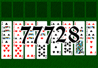 Solitaire №77728