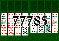 Solitaire №77785
