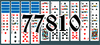 Solitaire №77810