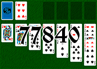 Solitaire №77840