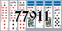 Solitaire №77911