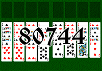 Solitaire №80744