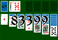 Solitaire №83399